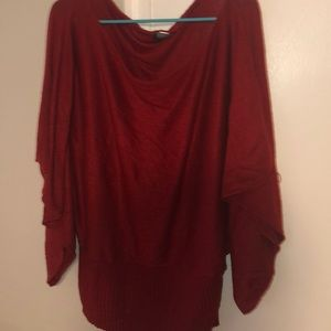 Cow neck sweater gently worn